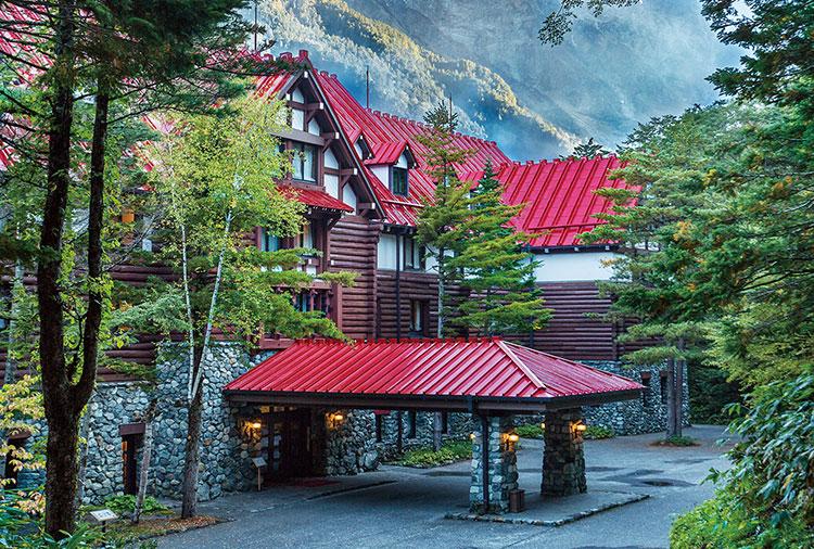 Entrada do Kamikochi Imperial Hotel
