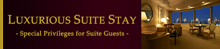 LUXURIOUS SUITE STAY