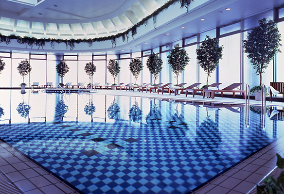Fitness Center, Pool and Saunas