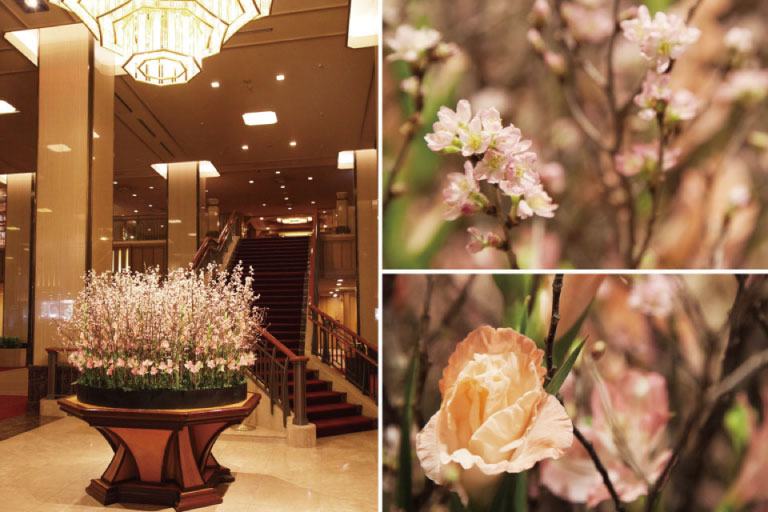 Main Lobby floral display