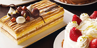 Whole cakes and reservation products
