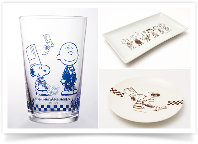 Grand Chef SNOOPY Designed Glass and Dishes