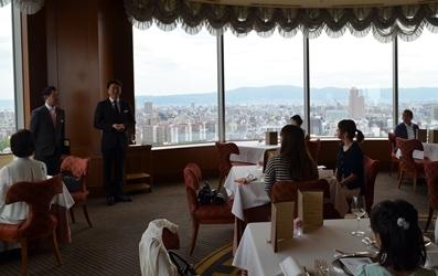 テーブルマナー教室   帝国ホテル 大阪