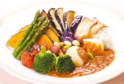 帝国 ホテル 野菜 カレー