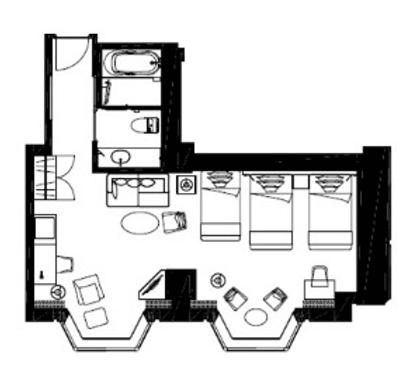 サービス アパートメント ホテル 帝国